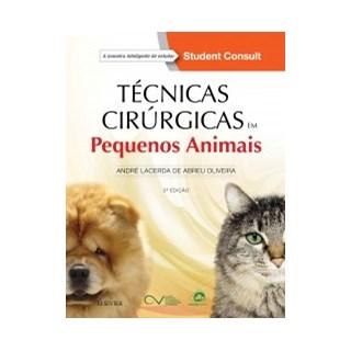 Livro - Técnicas Cirúrgicas em Pequenos Animais - Laceda