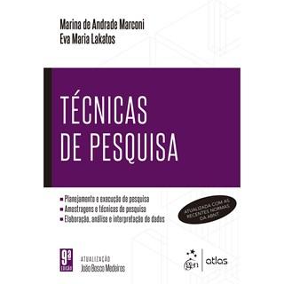 Livro Técnicas de Pesquisa - Lakatos - Atlas