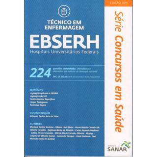Livro - Técnico em Enfermagem - EBSERH - 224 Questões Comentadas
