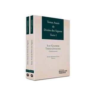 Livro Temas Atuais De Direitos Dos Seguros Tomo 1 E 2 - Goldberg - Revista dos Tribunais