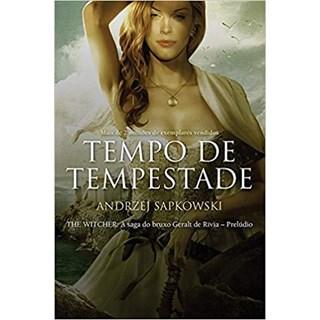 Livro - Tempo de Tempestade - Sapkowski - Wmf Martins Fontes