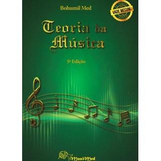 Livro -Teoria da Música Vademécum da Teoria Musical- Med