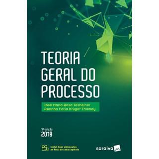 Livro - Teoria Geral Do Processo - Tesheiner
