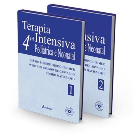 Livro - Terapia Intensiva Pediátrica e Neonatal - 2 Volumes - Werther de Carvalho