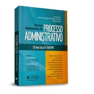 Livro - Termas Relevantes de Processos Administrativo - Oliveira