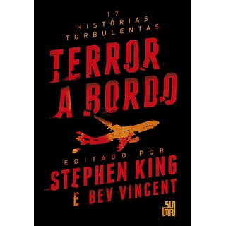 Livro Terror a Bordo - King - Suma