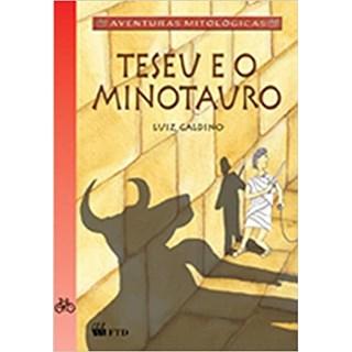 Livro - Teseu e o Minotauro - Galdino - FTD
