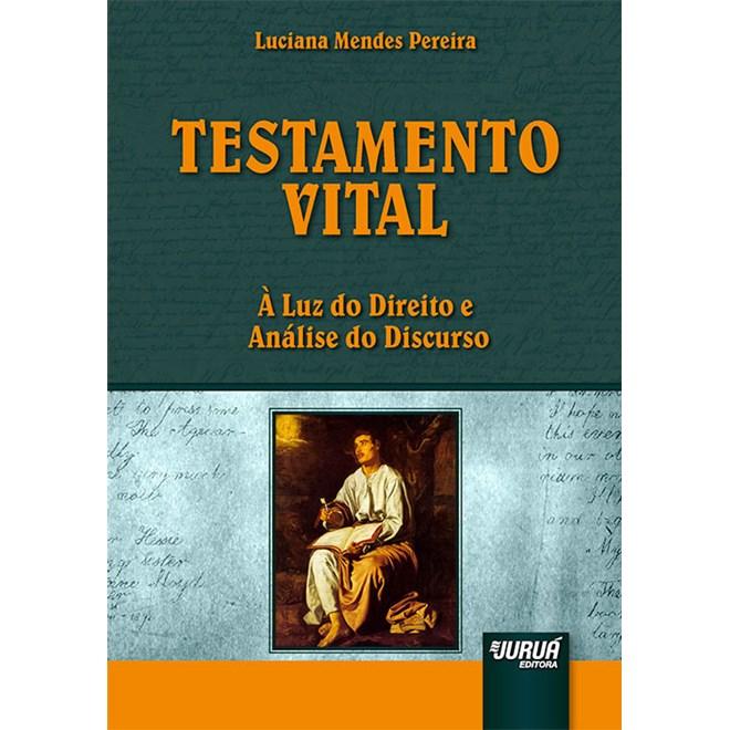 Livro - Testamento Vital - Pereira - Juruá