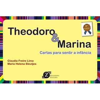 Livro - Theodoro & Marina - Cartas para Sentir a Infância - Lima