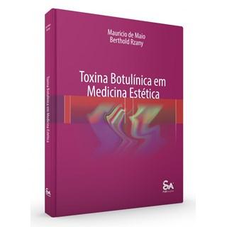 Livro Toxina Botulínica em Medicina Estética - Rzany - Santos Pub