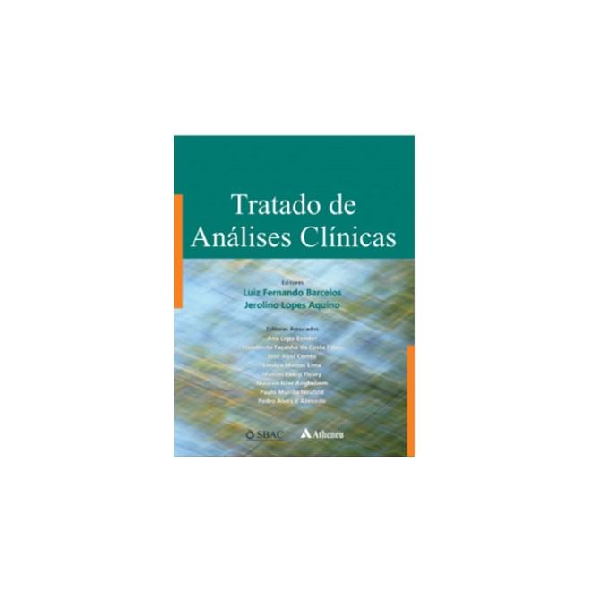 Livro - Tratado de Análises Clínicas - Barcelos 1ª edição