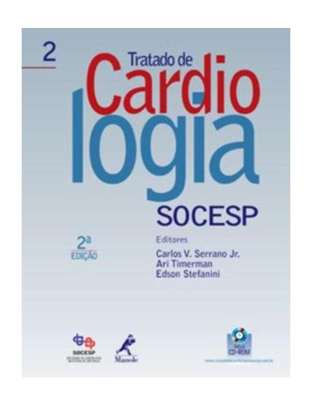 Livro - Tratado de Cardiologia - SOCESP - 2 Vols - Serrano Jr.