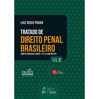 Livro Tratado de Direito Penal Brasileiro: Parte Geral - Vol. 2 - Prado - Forense