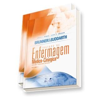 Livro - Tratado de Enfermagem Médico-Cirúrgica 02 Volumes - Brunner