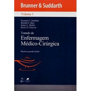 Livro - Tratado de Enfermagem Médico-Cirúrgica - Brunner - 4 Volumes - 2012 #