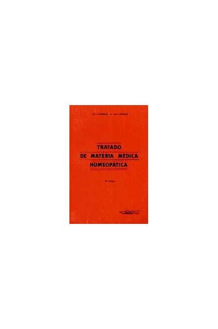 Livro - Tratado de Matéria Médica Homeopática - Vannier