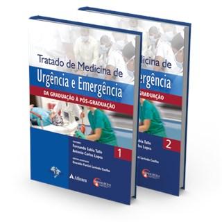 Livro - Tratado de Medicina de Urgência e Emergência 2 vol - Tallo e Lopes - SBCM e Abamurgem