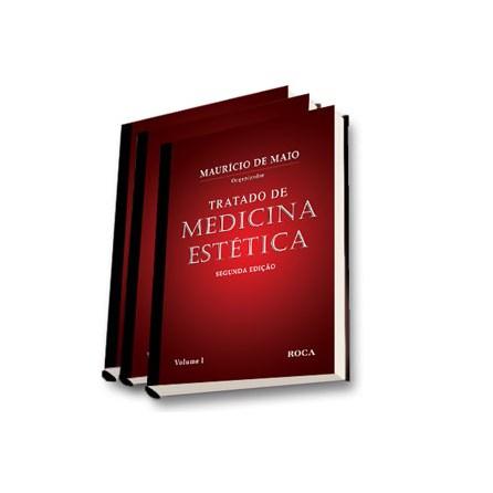 Livro - Tratado de Medicina Estética - De Maio - 3 vols