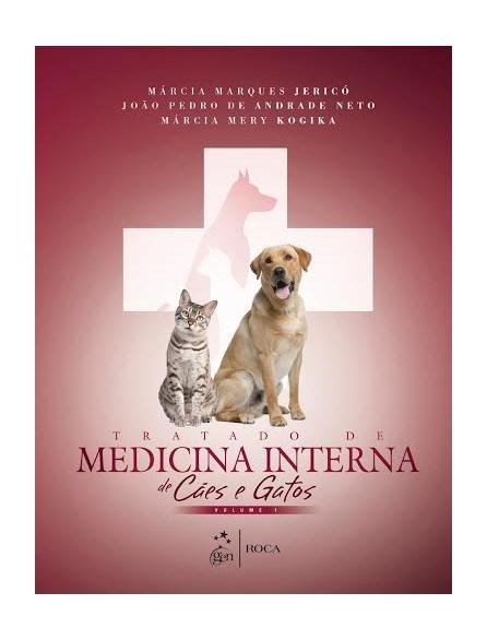 Livro - Tratado de Medicina Interna de Cães e Gatos - 2 Vol. - Jericó