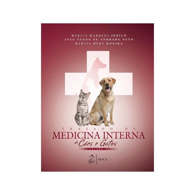 Livro - Tratado de Medicina Interna de Cães e Gatos - 2 Vol. - Jericó - 1ª edição