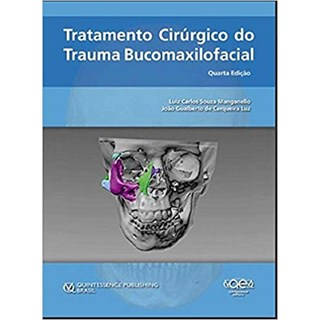 Livro - Tratamento Cirúrgico do Trauma Bucomaxilofacial - Souza - Santos