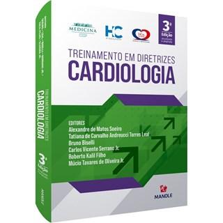 Livro -Treinamento em Diretrizes Cardiologia -  Soeiro 1ª edição