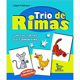 Livro - Trio de Rimas - Feldmann - Baralho