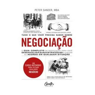 Livro - Tudo o que você precisa saber sobre NEGOCIAÇÃO - SANDER 1º edição