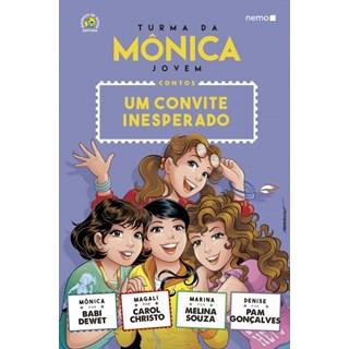 Livro - Turma da Mônica Jovem - Um Convite Inesperado- Sousa