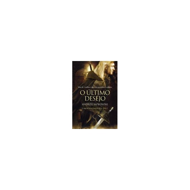 Livro último Desejo, O - The Witcher Livro 1 - WMF
