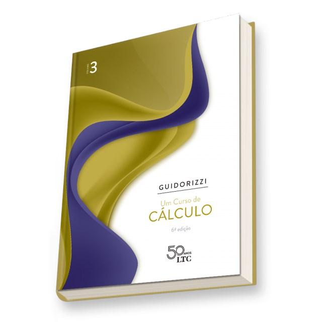 Livro - Um Curso de Cálculo - Volume 3 - Guidorizzi