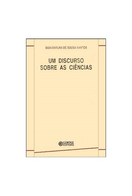 Livro - Um Discurso Sobre as Ciências - Santos