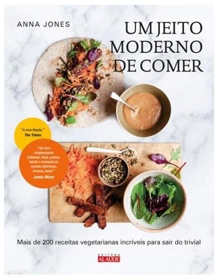 Livro - Um Jeito Moderno de Comer - Jones