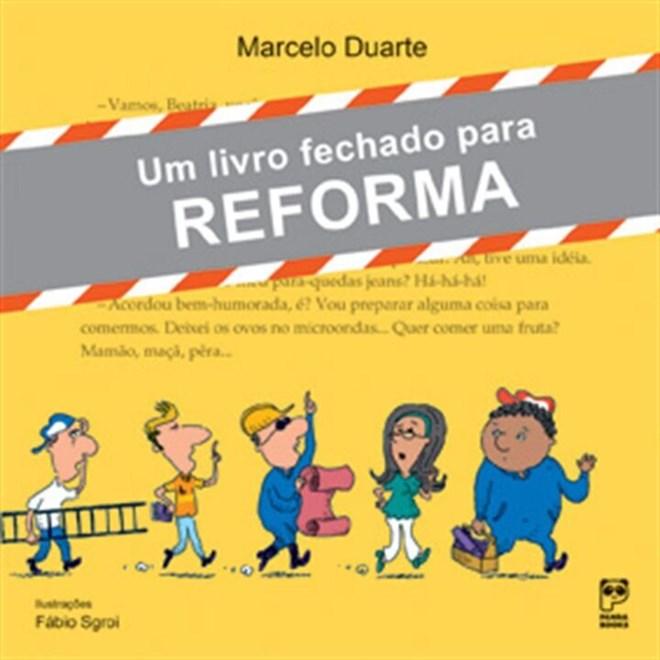 Livro - Um Livro Fechado Para Reforma - Duarte - Panda Books