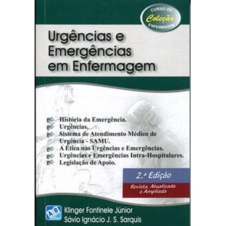 Livro - Urgência e Emergência em Enfermagem - Fontinele