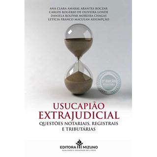 Livro Usucapião Extrajudicial - Boczar - Jh Mizuno