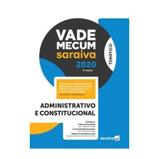 Livro - Vade Mecum Administrativo e Constitucional – 4ª edição de 2020 - Editora Saraiva 4º edição
