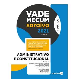 Livro Vade Mecum Administrativo e Constitucional 6ª Edição - Saraiva