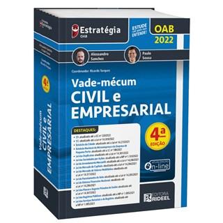 Livro Vade-Mécum Civil e Empresarial 2ª Edição - Sanchez - Rideel - Pré-Venda