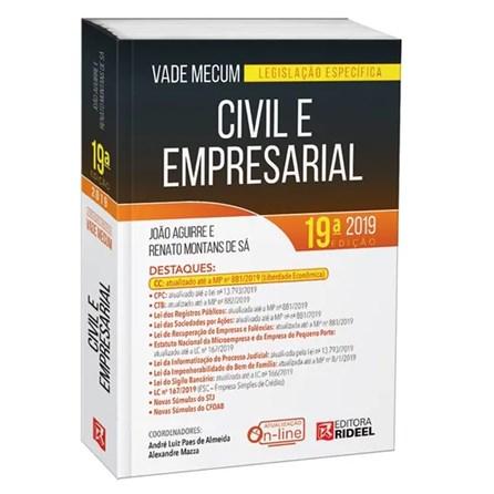 Livro - Vade Mecum Civil e Empresarial - Legislação Especifica - Aguirre