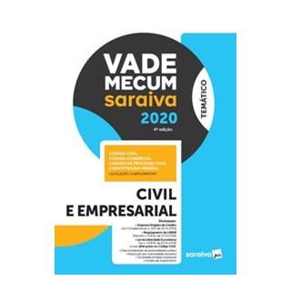 Livro - Vade Mecum Civil e Empresarial - Temático - 4ª Ed. 2020 - Saraiva 4º edição