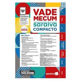 Livro - Vade Mecum Compacto Saraiva 2020 - 22ª Edição - Editora Saraiva 22º edição