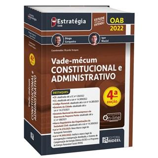 Livro Vade-mécum Constitucional e Administrativo - Cerqueira - Rideel - Pré-Venda