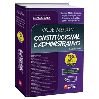Livro Vade Mecum Constitucional e Administrativo - Kühl - Rideel