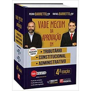 Livro Vade Mecum da Aprovação em: Tributário, Constitucional e Administrativo - Rideel