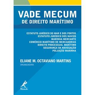 Livro - Vade Mecum de direito marítimo - Martins