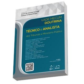Livro - Vade Mecum Doutrina - Técnico e Analista dos Tribunais e Ministério Público - Gonzaga