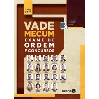 Livro Vade Mecum Exame de Ordem 4ª Edição - Rachid - Saraiva - Pré-Venda