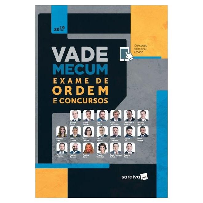 Livro - Vade Mecum Exame De Ordem e Concursos - Estefam