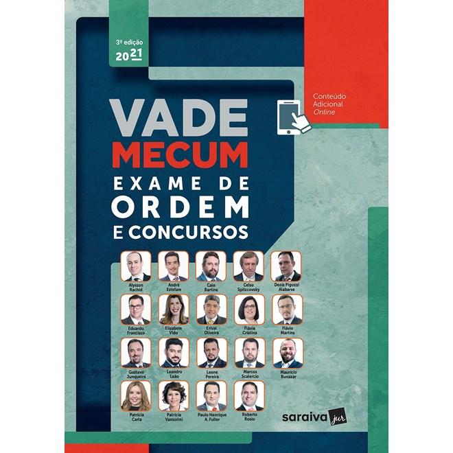 Livro - Vade Mecum exame de ordem e concursos - Rachid 2º edição